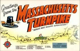 Mass Pike Exits Map The Massachusetts's Turnpike History Day Project   Anthony Marro 8